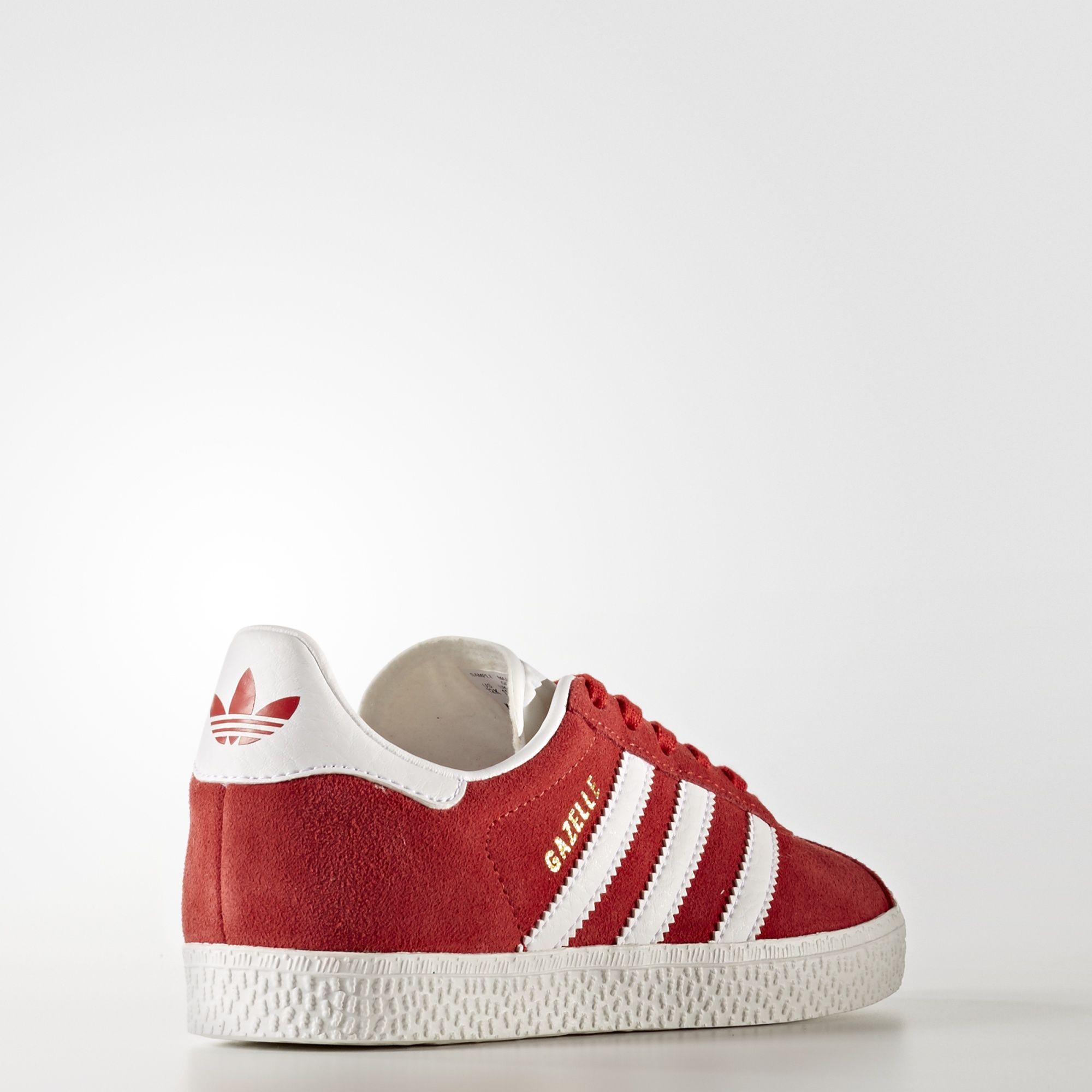 adidas gazelle rosse bambino