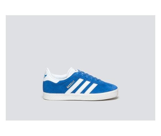 gazelle adidas bambino blu