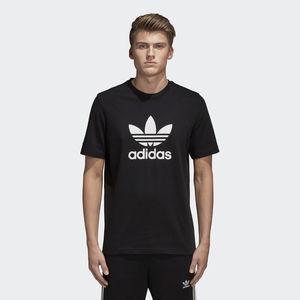 Adidas OriginalS Trefoil T-shirt Logo  Nero Unisex Art.CW0709