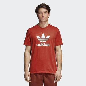 Adidas OriginalS Trefoil T-shirt Logo  Rosso  Unisex Art.CX1895