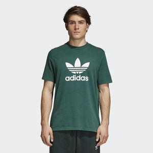 Adidas OriginalS Trefoil T-shirt Logo  Verde  Unisex Art.CW0705