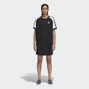 Adidas Originals Abito 3- Stripes Raglan Nero Donna Art.CE4961