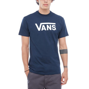 Vans T-shirt Classic Logo Blu Unisex Art. VGGGNAV