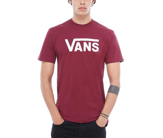 Vans T-shirt Classic Logo Bordeaux Unisex Art. V00GGGZ28