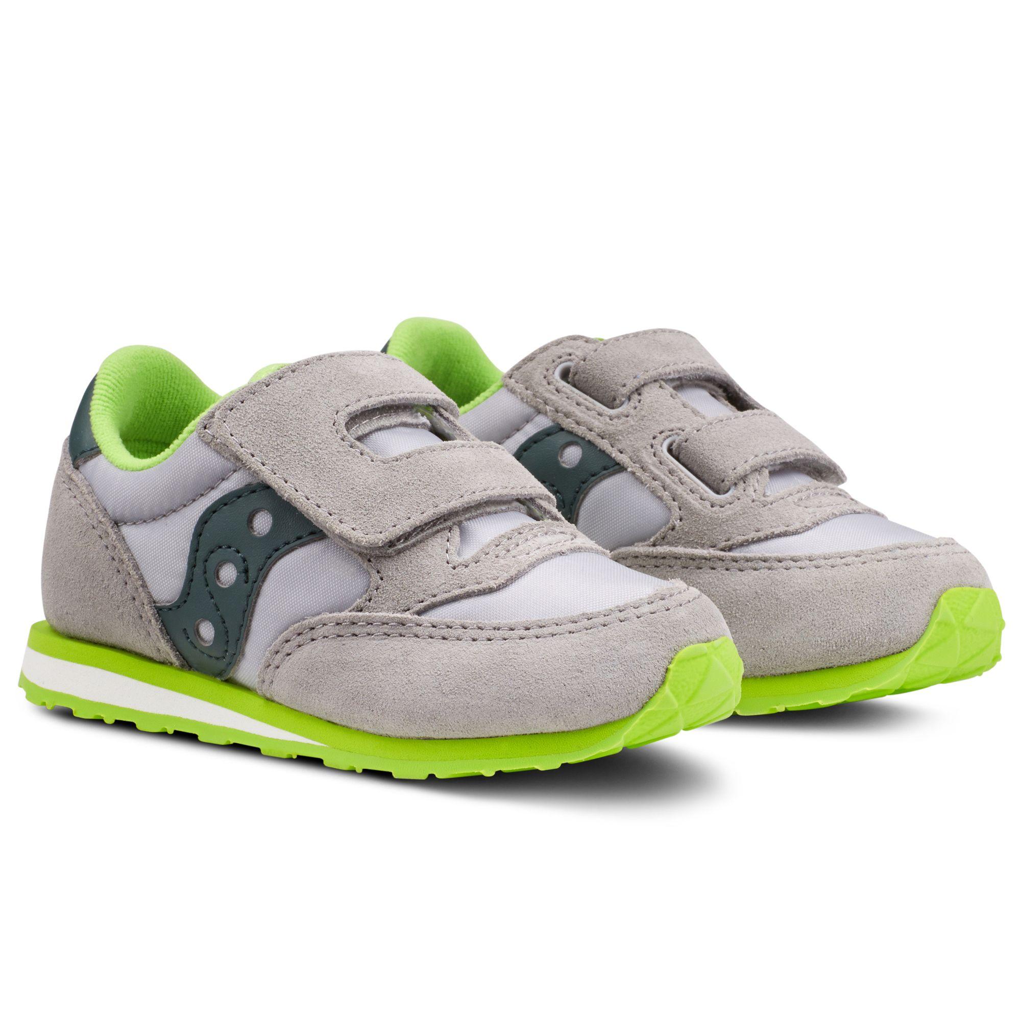saucony jazz grey green