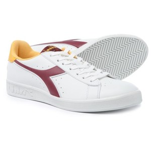 Diadora Game P Bianco/Senape/Bordò Art.101160281 C7042