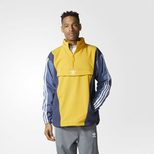 Giacca a vento Adidas Originals Blocked Anorak Giallo ocra-Blu Art. BS4504
