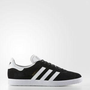 Adidas Gazelle Camoscio Nero Bianco Art. BB5476