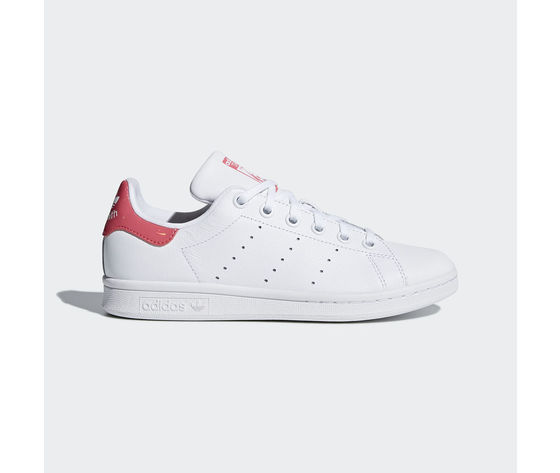 Adidas Stan Smith Donna Vernice Bianco Fucsia Art.DB1207