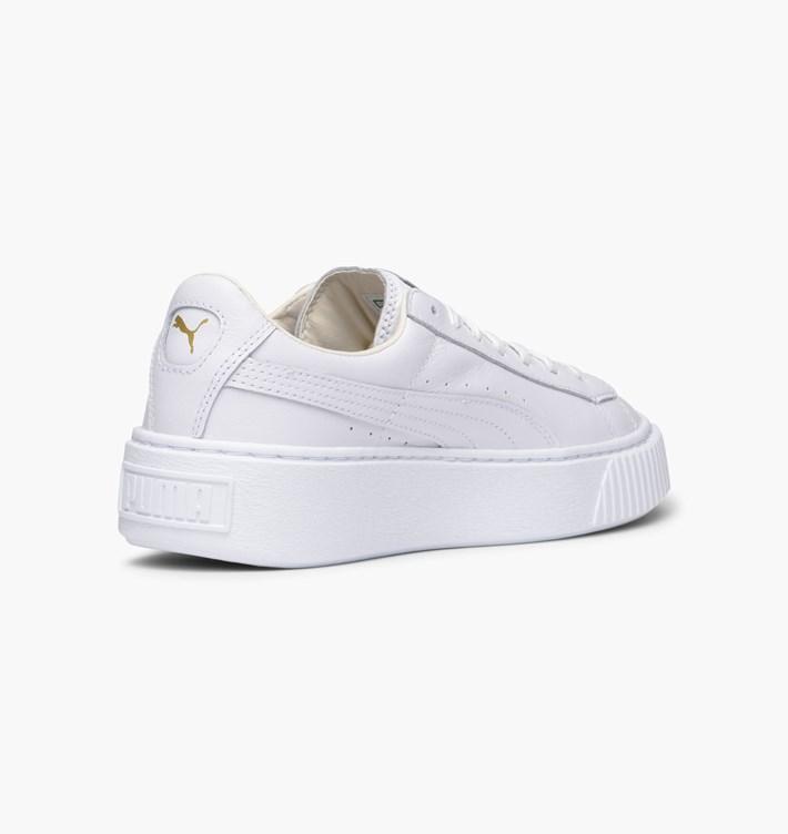 682ec9b7db7b Puma Basket Platform Core Sneakers Bianco Art. 364040 04 - colbaffo