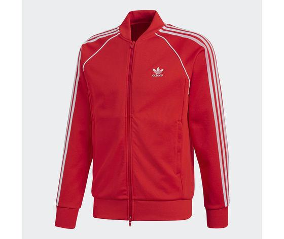Giacca Adidas Originals SST TT Rosso Unisex Art. CW1257