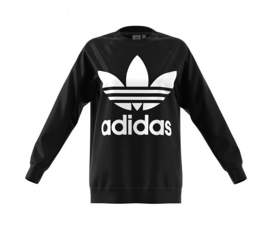 Felpa Adidas Originals Oversized Sweat Nero Unisex Art. CY4755