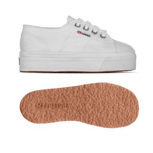 Superga Baby 2790 Bianco Junior Platform Art. S007WQ0 901