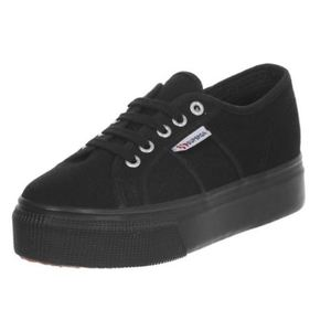 Superga Nero 2790 Linea Up and Down Tela Platform Art. S0001L0 996