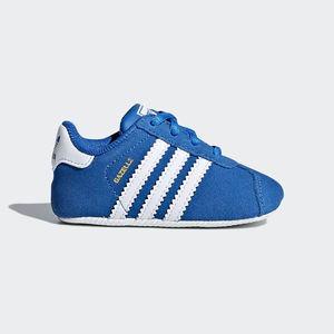 buy popular d5647 cec16 Adidas Gazelle Crib Blu Bianco Art. CM8229