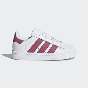 Adidas Superstar Bianco/Rosa Art. CQ2858