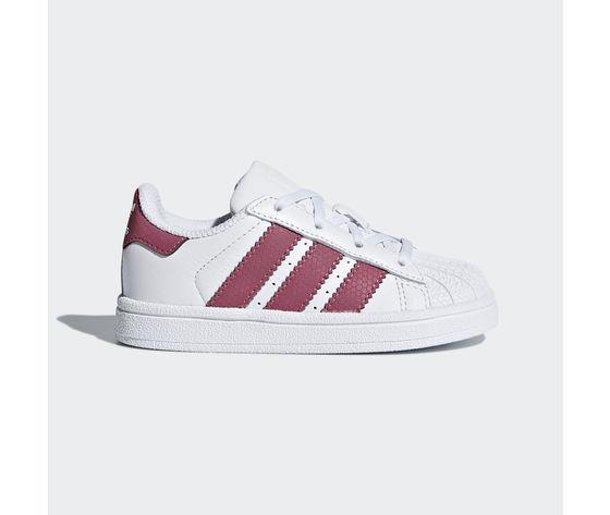 Adidas Superstar Bianco/Rosa Art. CQ2858