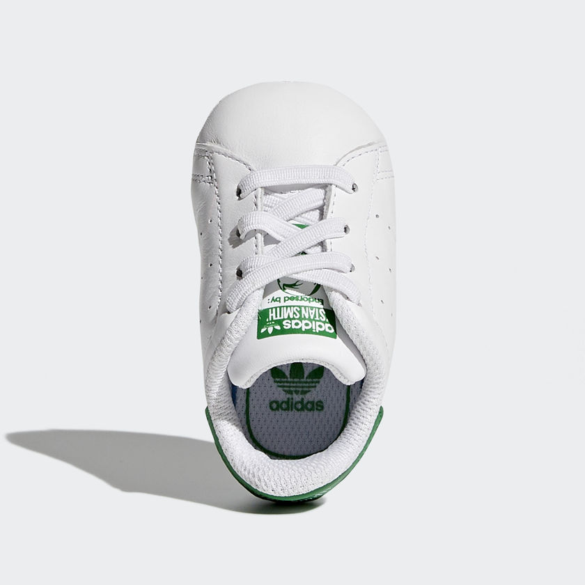 new product 52061 019ab NEONATI Adidas Stan Smith Crib Bianco Verde Art. B24101. B24101 01  standard  B24101 02 standard ...