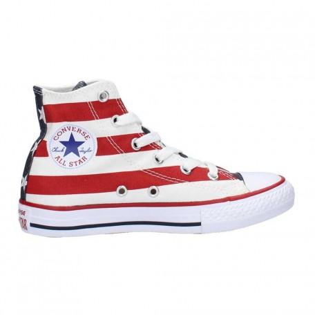converse con bandiera americana