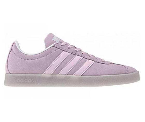 Adidas VL Court 2.0 Camoscio Rosa Art. DB0840