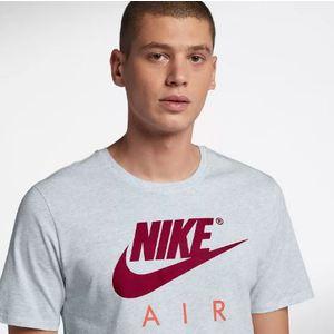 T-Shirt Nike Bianca con Logo Rosso Art. AA2303 051 YSM
