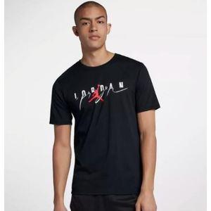 T-Shirt Jordan Nera con Logo Art. 916136 011 NIN