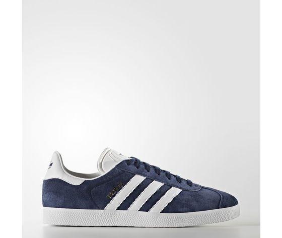 Adidas Gazelle Camoscio Blu Bianco Art. BB5478