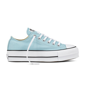 Converse All Star Platform Tela Celeste Art. 560687C
