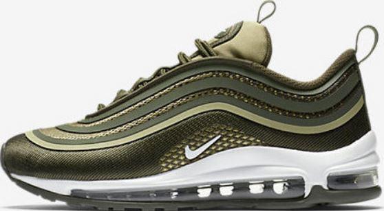Nike Air Max '97 Ultra '17 Verde Militare Art. 917998 300. Cattura ...