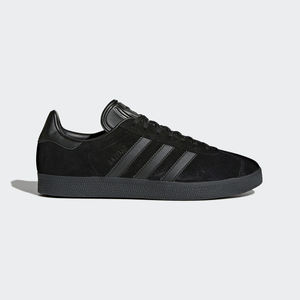 Adidas Gazelle Camoscio Nero Total Black Art. CQ2809