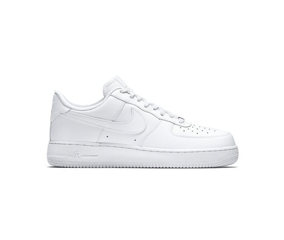 Nike Air Force 1 '07 Basse White/white Bianco cod. 314192 117