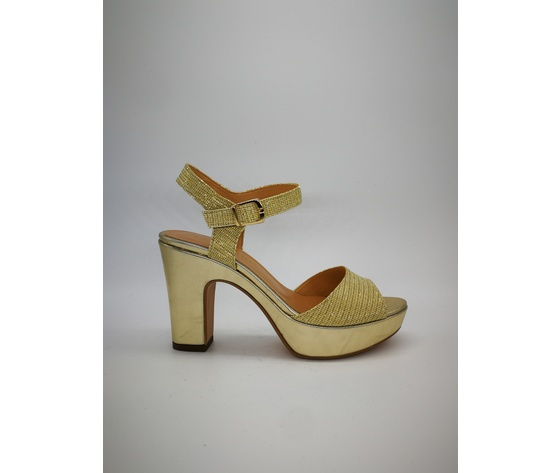 Indian mujer 20mm Laminate 70 Plateau para Platinum Sandalias Heel Glitter v08nNmwO