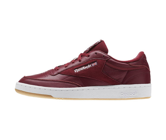 Reebok Club C85 Pelle Estl Bordò Uomo Art. CM8792