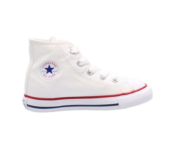 e658c9e8318b7 Converse All Star High Alte Scarpe Sneakers Bimbo Bimba Bianco Bimba ...