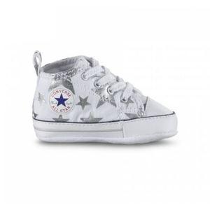 Converse First Star Bianco Stelle Argento Art. 856850C