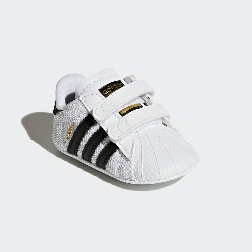 Adidas Superstar Crib Culla Neonato Bimbo Bimba Bianco Nero Art. S79916 - colbaffo