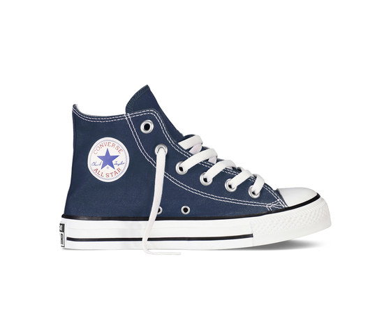Ragazzi Converse Navy Star Blu Art Sneakers High Scarpe All Alte wn0myN8vO