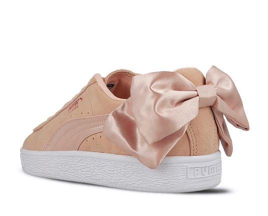 Bow Scarpe Sneakers Puma Val Vw0ia8 Con Cipria Wn's Suede