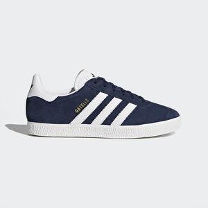 Adidas Gazelle Camoscio Blu Bianco Art. BY9144