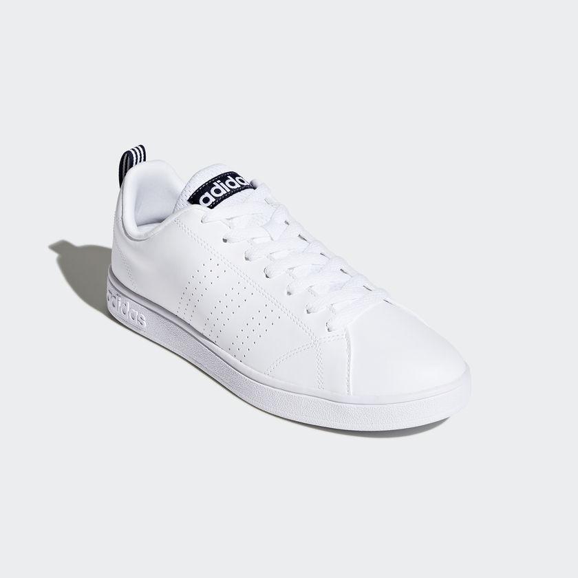 new product f55e4 5c5c0 Adidas Advantage Clean Bianco Blu Art. F99252. F99252 01 standard · F99252  04 standard ...