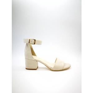 Sandalo Donna Tacco 50 Beige Sabbia Art. 3260BE