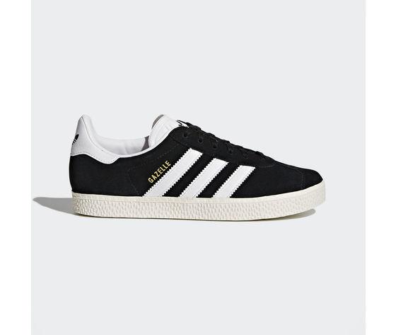 Adidas Gazelle Camoscio Nero Bianco Art. BB2502