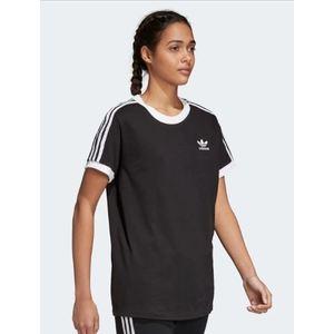T-Shirt Adidas 3 Stripes Donna Nero Bianco Art. CY4751