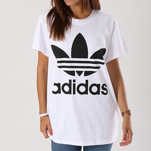 T-Shirt Adidas Big Logo Nero Bianco Art. DH3160