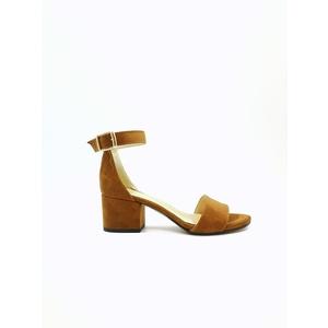 Sandalo Donna Tacco 50 Marrone Art. 3260MA