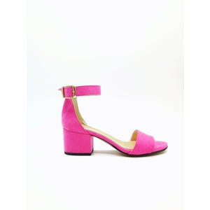 Sandalo Donna Tacco 50 Fucsia Art. 3260FU