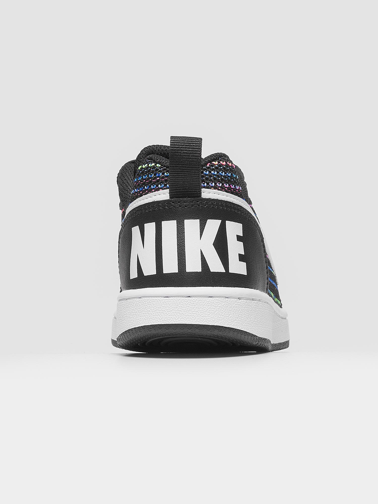Nike Court Borough Low Se GS Nero Bianco Multicolor Art. AA2902 001. Nike  aa2902 001 01  Nike aa2902 001 03 ... e1ecf8f67d120