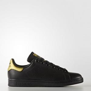 Adidas Stan Smith Nero/Oro Art. BB0208