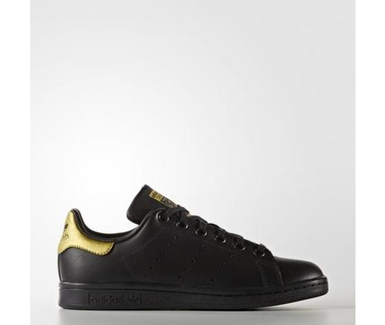 Adidas Stan Smith Nero/Oro Art. BB0208