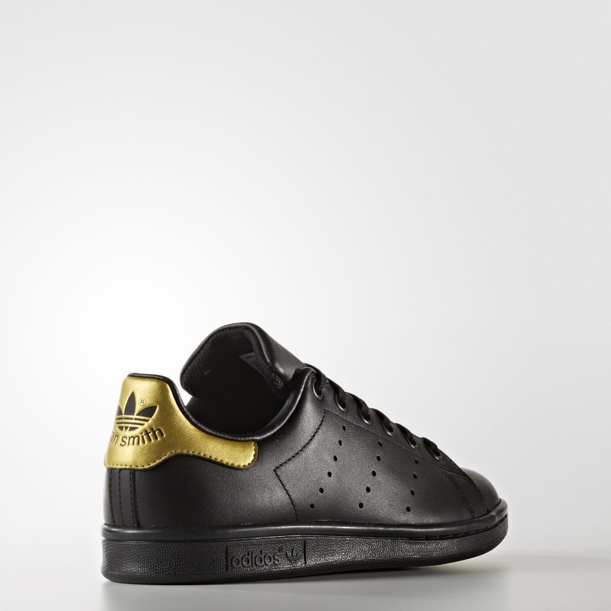 adidas stan smith nere oro